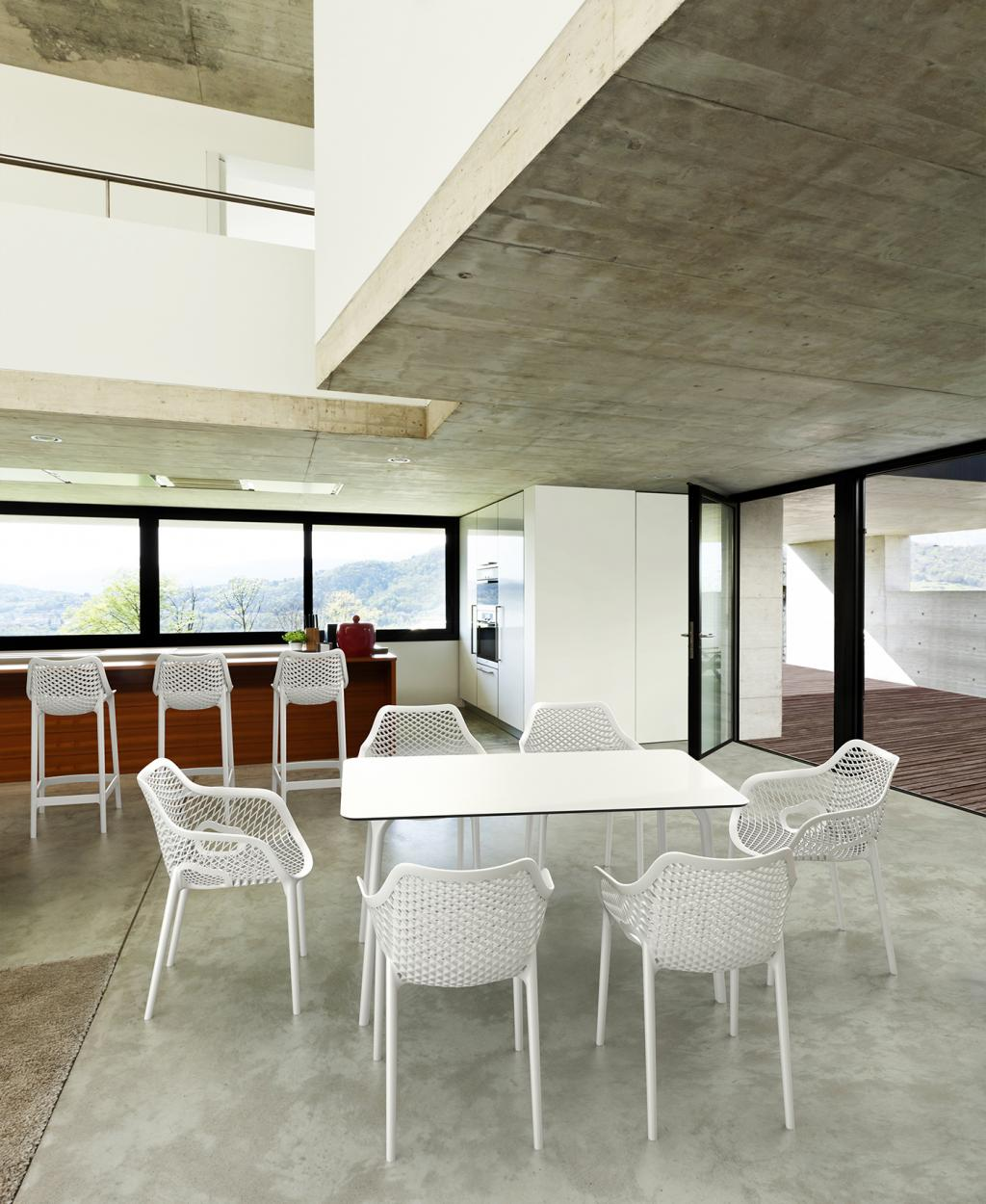 Cabin Living Gartenstuhl Air XL Weiß